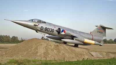 D-8030 - Lockheed F-104 Starfighter - Netherlands - Royal Air Force