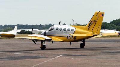 A picture of ECFJF - Cessna 414 - [4140523] - © BRIAN A WALKER