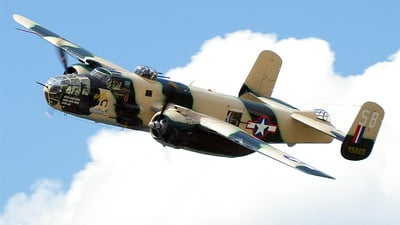 HB-RDE - North American B-25J Mitchell - Private