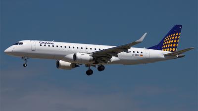 D-AECF - Embraer 190-100LR - CityLine