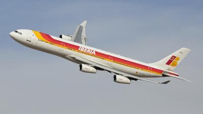 EC-KCL - Airbus A340-311 - Iberia (Audeli Air Express)