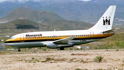 G-BMON - Boeing 737-2K9(Adv) - Monarch Airlines