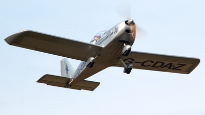 G-CDAZ - Evektor-Aerotechnik EV97 Eurostar - Private