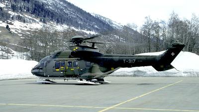 T-317 - Aérospatiale AS 332M1 Super Puma - Switzerland - Air Force