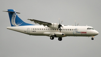 F-WWEB - ATR 72-212A(500) - Finncomm Airlines