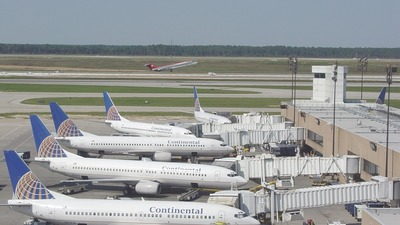 N17326 - Boeing 737-3T0 - Continental Airlines