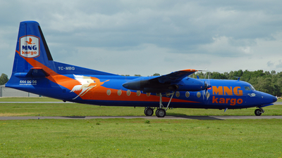 TC-MBG - Fokker F27-500F Friendship - MNG Airlines