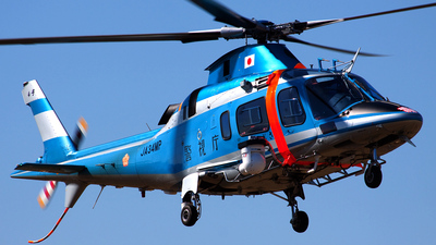JA34MP - Agusta A109E Power - Japan - Police