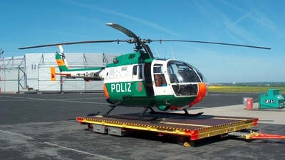 D-HNWE - MBB Bo105S - Germany - Police