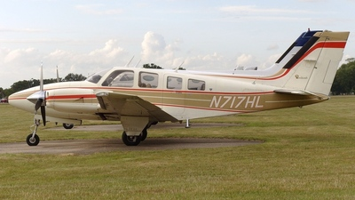 A picture of N717HL - Beech 58P Pressurized Baron - [TJ160] - © Glyn Charles Jones