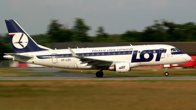 SP-LDG - Embraer 170-100STD - LOT Polish Airlines