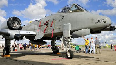 81-0985 - Fairchild OA-10A Thunderbolt II - United States - US Air Force (USAF)