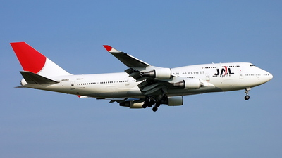 JA8082 - Boeing 747-446 - Japan Airlines (JAL)