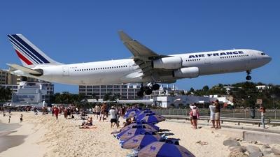 F-GLZM - Airbus A340-313X - Air France
