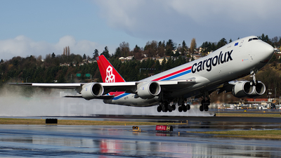 N5573S - Boeing 747-8R7F - Cargolux Airlines International