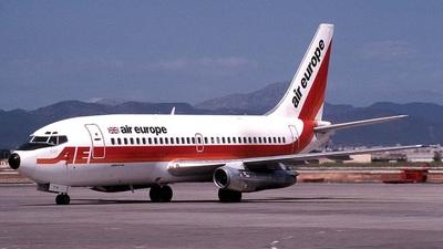 G-BJFH - Boeing 737-2S3(Adv) - Air Europe