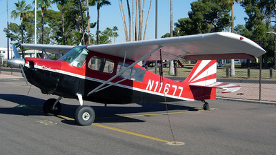 A picture of N11677 - Bellanca 7KCAB Citabria - [30672] - © Sun Valley Aviation