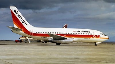 G-BMEC - Boeing 737-2S3(Adv) - Air Europe