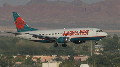 N308AW - Boeing 737-3G7 - America West Airlines
