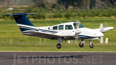 ZK-EZX - Beechcraft 76 Duchess - Ardmore Flying School