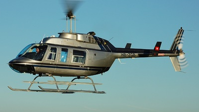 HB-ZGB - Bell 206L-3 LongRanger - Airport Helicopter Basel