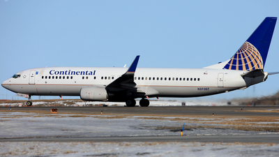 N37267 - Boeing 737-824 - Continental Airlines