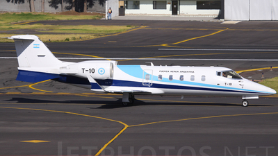 T-10 - Bombardier Learjet 60 - Argentina - Air Force