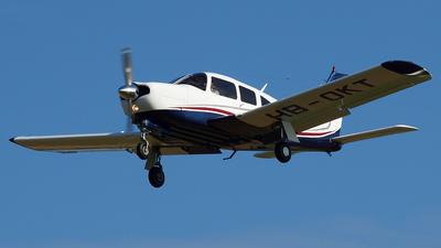 HB-OKT - Piper PA-28R-200 Cherokee Arrow II - Private