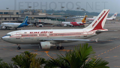 VT-AIA - Airbus A310-324 - Air India