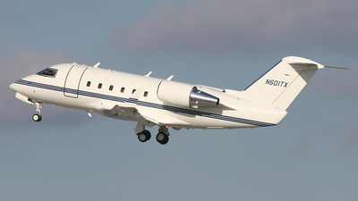 N601TX - Bombardier CL-600-2A12 Challenger 601 - Pegasus Aviation