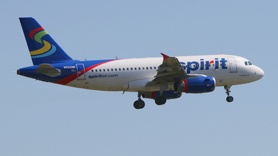 N502NK - Airbus A319-132 - Spirit Airlines
