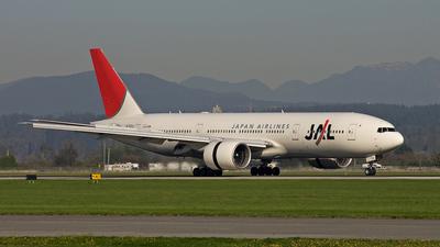 JA703J - Boeing 777-246(ER) - Japan Airlines (JAL)