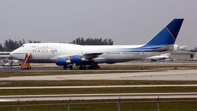 N354MC - Boeing 747-341(SF) - Focus Air
