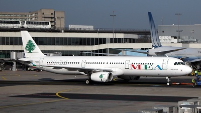 F-ORMI - Airbus A321-231 - Middle East Airlines (MEA)