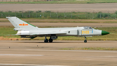 21103 - Shenyang J-8II Finback-B - China - Air Force