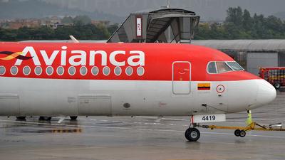 HK-4419 - Fokker 100 - Avianca