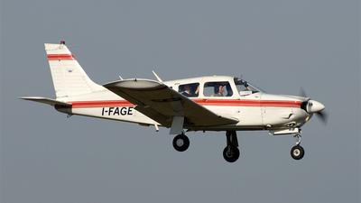 A picture of IFAGE - Piper PA28R200 Cherokee Arrow II - [28R7435149] - © Pier Francesco Baglivo