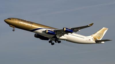 A4O-LJ - Airbus A340-313X - Gulf Air