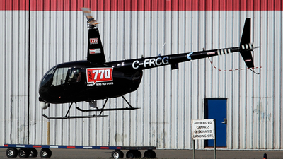 C-FRCG - Robinson R44 Raven II Newscopter - LR Helicopters