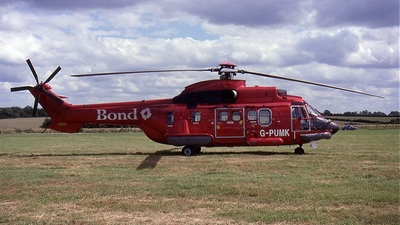 G-PUMK - Aérospatiale AS 332L Super Puma - Bond Air Services