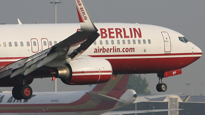 D-ABBP - Boeing 737-86J - Air Berlin