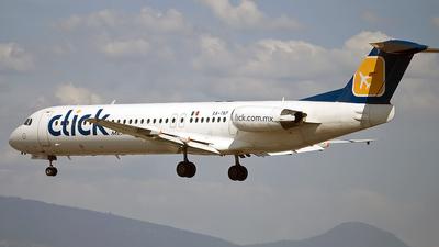XA-TKP - Fokker 100 - Mexicana Click