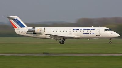 F-GRJE - Bombardier CRJ-100ER - Air France (Brit Air)