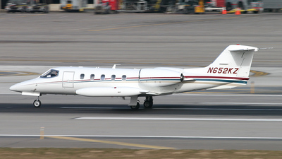 N652KZ - Gates Learjet 35A - Private