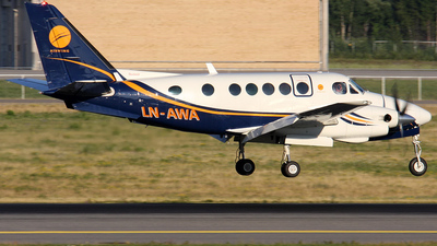 LN-AWA - Beechcraft A100 King Air - Airwing