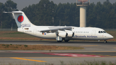 OO-DWJ - British Aerospace Avro RJ100 - SN Brussels Airlines