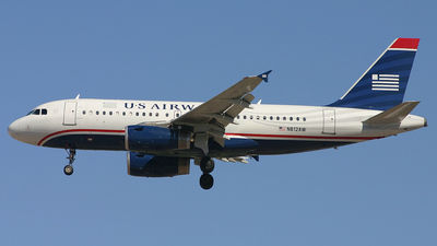 N812AW - Airbus A319-132 - US Airways (America West Airlines)