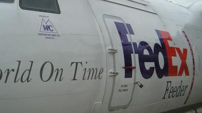 N715FE - Fokker F27-500F Friendship - FedEx Feeder (Mountain Air Cargo)