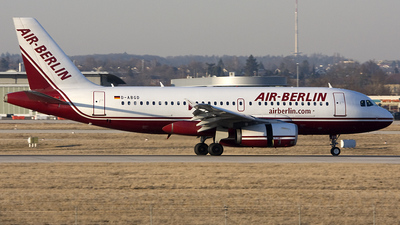 D-ABGD - Airbus A319-132 - Air Berlin