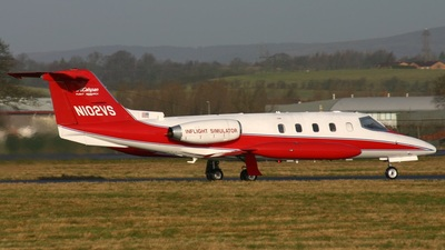 N102VS - Gates Learjet 25 - Private